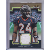 2011 Topps Triple Threads Jersey Champ Bailey Cb Broncos /27