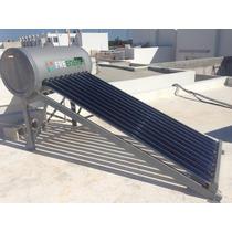 100 Lt Calentador Solar 10 Tubos Vidrio