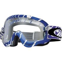 Goggles Oakley O Frame Mx Skull Rushmore White/purple Clear