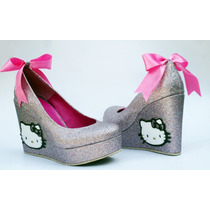 Hello Kitty Custom Plataforma Corrida