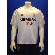 Playera Real Madrid 2004 / 2005 Doble Tela