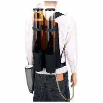 Dispensador Mochila De Bebidas Cerveza Doble