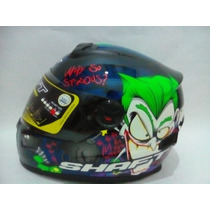 Casco Cerrado Shaft Sh-581 Modelo Joker Green