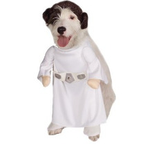 Disfraz De Princesa Leia Para Perros, Mascotas, Envio Gratis