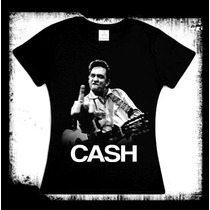 Johnny Cash Camiseta Y Blusa Blues Rockabilly San Quentin