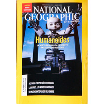 National Geographic Agosto 2011. Humanoides. La Nueva Gen.