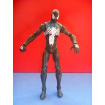 Marvel Universe Spiderman Black Custome Wave 3 2009 Negro