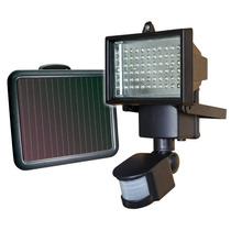 Reflector Solar 60 Leds Lampara Solar Sensor Movimiento