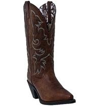 Laredo Piel Mujeres Cabra Amplia Ternero Vaquero Moda Boot 5