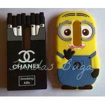 Funda Minion Moto G3 Tercera Generacion Cigarrera Chanel