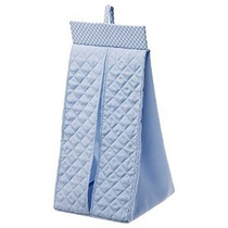 Ikea Acolchado Hanging Apilador De Pañales (azul)