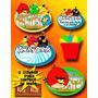 Invitaciones Angry Birds-mega Paquete Fiesta Angry Birds