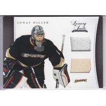 2011 - 2012 Luxury Suite Jersey Stick Jonas Hiller G Ducks