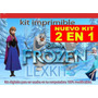 Mega Kit Imprimible Frozen Invitaciones 100% 2015 Calendario
