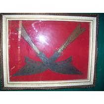 Cuadro De 1,20 X 140 Espadas Chinas De Adorno