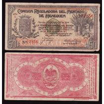 Pi-yuc-6 Billete De Yucatan De 50 Centavos