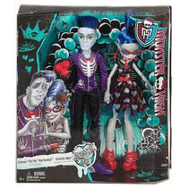 Monster High Love No Muero Ghoulia Yelps Y Sloman Slo Mo
