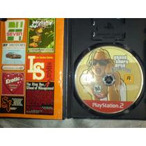 San Andreas Grand Theft Auto El Mejor Juego De Play 2 Dmm