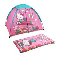 Hello Kitty Casita Kit Bolsa Para Dormir Campar