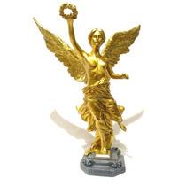 Escultura Del Angel De Independencia De 44 Cm Imitacion Oro