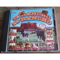 De Rancho En Rancho Cd Rarisimo Carlos Y Jose Ramon Ayala