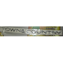 Emblema Chrysler Letra Town And Country