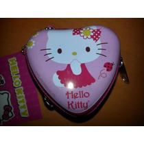 Hello Kitty Monedero Metalico Nuevo! Fiesta