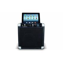 Sistema De Sonido Con Karaoke Tailgater Para Ipad Iphone Cel