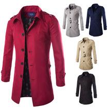 Trench Coat Abrigo / Gabardina Otoño 2015 Moda Japonesa Lv