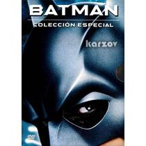Batman, Collección Especial, 4 Peliculas, Saga Original, Dvd