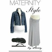 Maxifalda Maternidad Y Después Del Embarazo