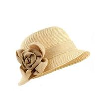 Gorra De La Mujer Nyfashion101 Papel Tejido Cloche Sombrero