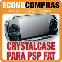 Funda Crystal Case Para Sony Psp Fat Mod. 1000 100% Nueva