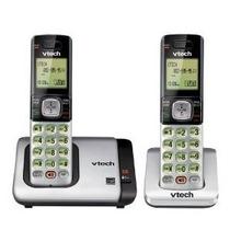 Vtech Cs6719-2 Teléfono Dect 6.0 Con Identificador De Llamad