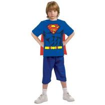 Disfraz / Playera De Superman Para Niños, Envio Gratis
