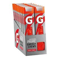 Gatorade Primera Energía Masticables Ponche De Frutas (paque