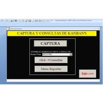 Programa De Kanbans Impresion Con Fotos Y Codigo De Barras
