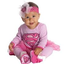 Disfraz De Superman / Supergirl Para Bebes, Envio Gratis