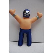 Blue Demon - Luchador D Peluche Lucha Libre Muñeco D Juguete
