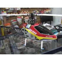 Helicoptero Align T-rex 500 Nuevo Armado Con Motor Y Speed.