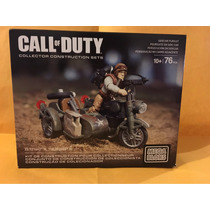 Moto Sidecar Ww2 Call Of Duty Megabloks Set Cng94 Nuevos