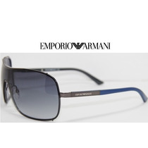 Lentes Aviator Emporio Armani Ea 9813/s 021o Ruthenblue Grey