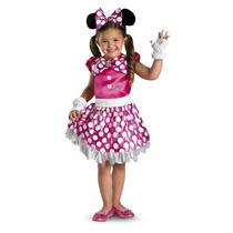 Disfraz De Minnie Mouse, Mimi Para Niñas, Envio Gratis