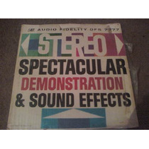 Disco Lp De Stereo Spectacular Demosntration & Sounds Effect