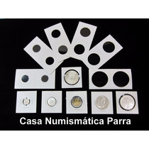Paquete De 100 Cartones Para Moneda 2 X 2 Marca B C W