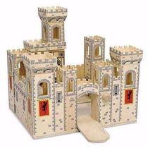 Castillo Medieval Madera Con Compartimientos Melissa & Doug