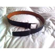 Cinturón Negro Canali Original Italiano 30