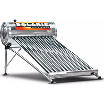 Calentador Solar Solaris 150 Litros 12 Tubos Por Gravedad