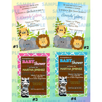 Invitaciones Baby Shower 5-invitaciones Infantiles
