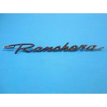 Emblema Ford Falcon Y Fairlane Ranchera